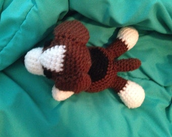 Crochet stuffed dog