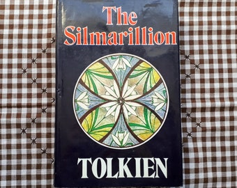 The Silmarillion by J.R.R. Tolkien - 1977 Second Printing Hardcover with Map