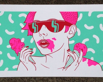 Melty - Limited Edition Screenprint