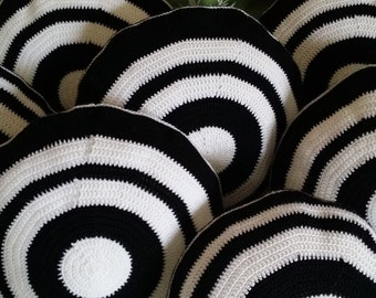 Crocheted Kyudo (Japanese Archery) Mato Pillow