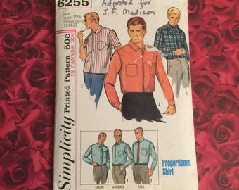 60's Vintage Simplicity Sewing Pattern