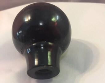 Black Daka-Ware gear shift knob