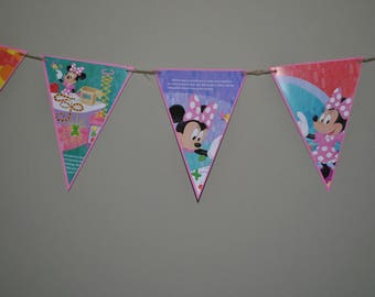 Minnie Mouse Storybook Banner