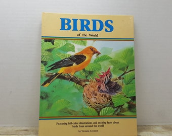 Birds of The World, 1988, Victoria Crenson, vintage bird book