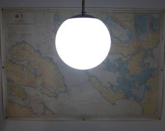 Danish Herstal Globe Pendant Light