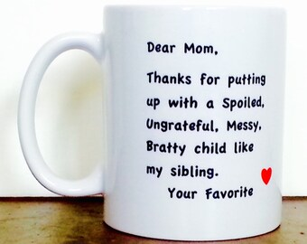 Personalized mug, gifts for mom, coffee mug, custom mug, mothers day gift, personalized gifts for mom, mom mug, mom gifts, mother gift