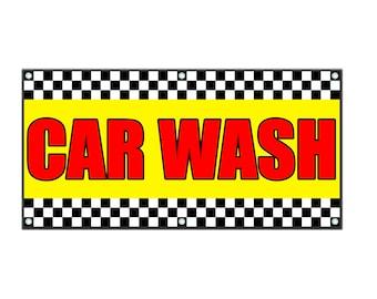 Car Wash Vinyl Banner