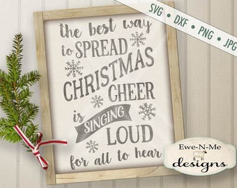 Best Way To Spread Christmas Cheer SVG Cut File - Christmas svg - Elf SVG - Winter svg - Commercial Use svg, dxf, png,  jpg