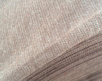 Bamboo Organic Cotton Spandex Ribbing WIDE 280 gsm - Brown (6006.24.00.00)