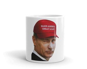 Make America Great Again Putin?! Mug