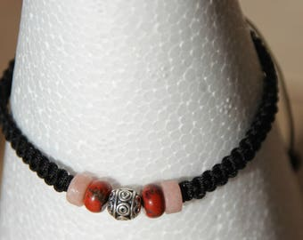 nylon beads Wire Bracelet