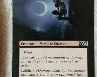 MTG Hand painted card - Nighthawk