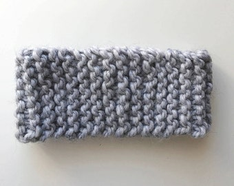 Basic Knit Headband // Chunky Hand Knitted Headband // Knit Headbands // Knit Ear Warmer // Chunky Knit // Traditional Knit Headband
