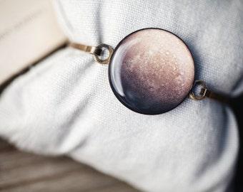 Mercury Bracelet, Celestial bracelet, Space Bracelet, Solar system bracelet, Mercury planet jewelrey, Planet mercury bracelet, space gift