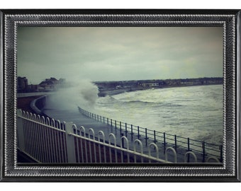 Photograph of choppy sea