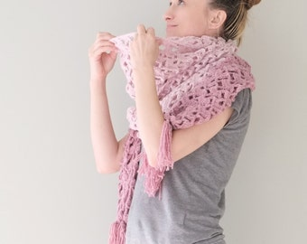 PATTERN To Make Extra Long Scarf / Crochet PATTERN / Pattern PDF - Instant Download / Detailed Instructions In English