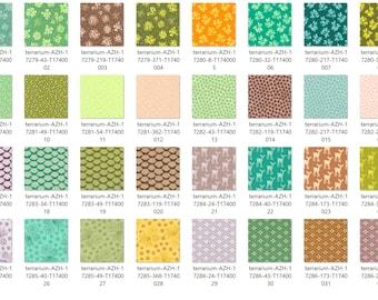 Terrarium by Elizabeth Hartman - FQ Bundle - Complete Set - 32 FQ's