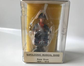 Reeves International Toy Soldiers Napoleonic Music Band Bass Drum # 3