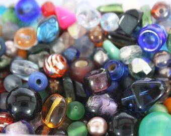 Mix assortment of glass beads