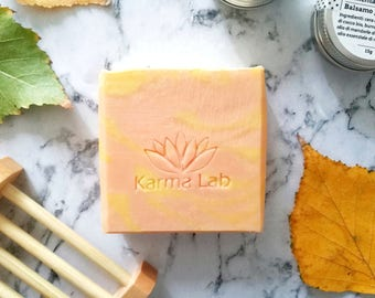 Clementine Handmade Soap, Citrus Soap, All Natural Soap, Cold Process Soap, Prosecco Handcrafted Soap, Baby Shower Gifts, Wedding Soap Favor