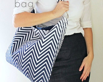 V and Co The Hampton Weekend Bag Pattern Quilting Sewing Fabric