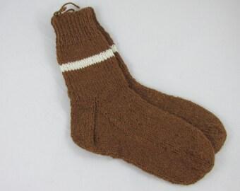 Hand Knit Alpaca Socks