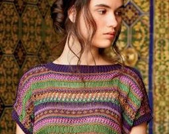Rowan Knitting & Crochet Magazine 55 ref ZM55 a collection of 45 designer patterns - Men and Women