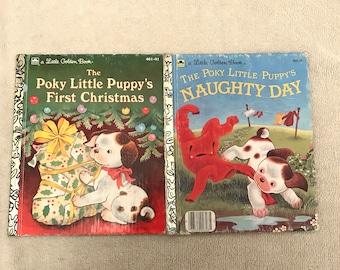 Vintage The Poky Little Puppy Golden Books