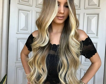 Balayage Remy, Clip-In Extensions, 120 Grams, 20 inches
