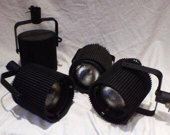 Theatre Lights, Vintage Spotlight, Industrial Stage Lighting, Movie Salvage