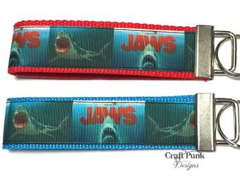 Jaws Keychain, JAWS, Shark, Horror Movie Keychain, Keychain, Horror, Summer Accessories