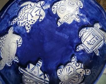 Blue Turtle Dish