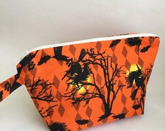 Halloween Medium Knitting Project Bag