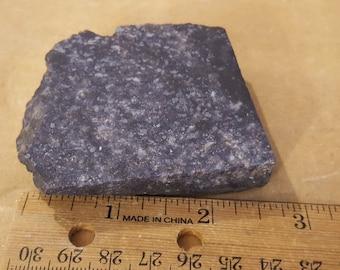 Beautiful Dumortierite in Quartz specimen