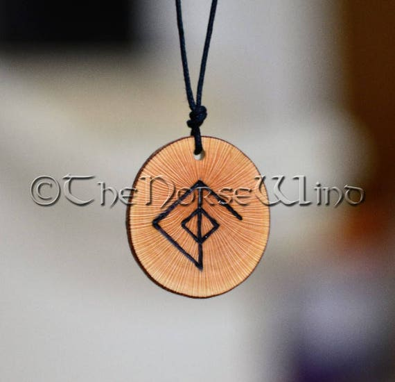 Viking Necklace Rune Necklace Love Amulet Attraction Love