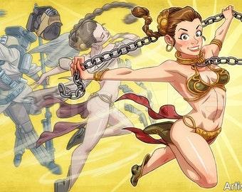 Slave Leia Transformation