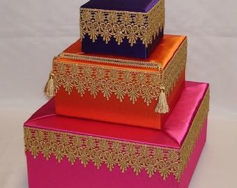 Moroccan Theme card box- any color scheme