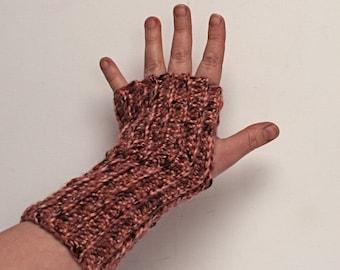 Fingerless Gloves Armwarmers Dusky Pink