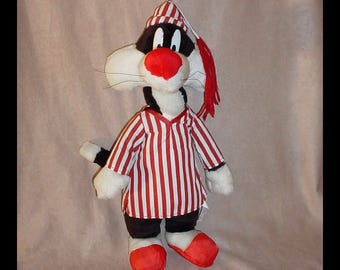 Sylvester the Cat 1997 Large Looney Tunes Stuffed Animal
