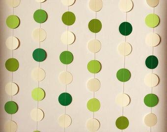 Circle garland/dot garland