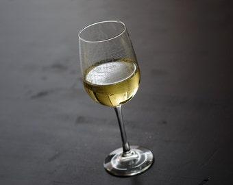 Las Vegas Map Wine Glass