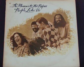 "Mamas & the Papas - People Like Us - ""Shooting Star"" - Sunshine Pop - Original Dunhill Records 1971 - Vintage Vinyl LP Record Album"