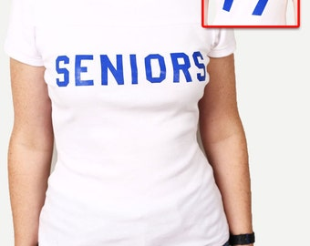 Seniors 77 Shirt - Dazed and Confused T-Shirt - NEW 100% Cotton