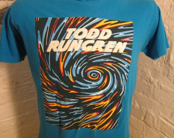 Size L (44) ** 1990 Todd Rundgren (Famously Misspelled Rungren)  Concert Shirt (Double Sided)