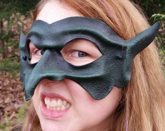 Green Goblin Leather Mask