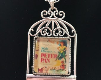 Peter Pan vintage style necklace.