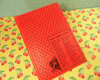 Culinary Arts Institute Encyclopedic Cookbook - Ruth Berolzheimer - Red Cover - Copyright 1974