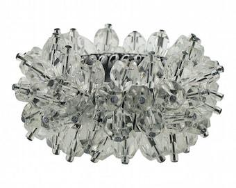 1950s Clear Glass Bead Vintage Cha Cha Bracelet