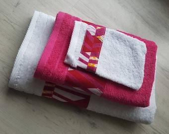 """Towels"" + washcloth Pack wax"