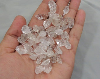 Natural Diamond Quartz Crystals Double Terminated size====13x10x8mm to 20x12x10mm